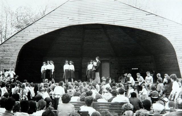 Muszla koncertowa w Parku Świętojańskim