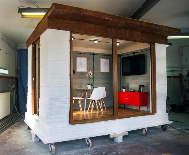Warszawski startup stworzył pierwszy w Polsce betonowy budynek z drukarki 3D