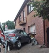 Sieraków. Pijany kierowca wjechał w dom! Usłyszał zarzuty [ZDJĘCIA][FILM]