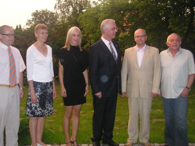 Burmistrz Nottuln przyjechał z żoną na trzy dni