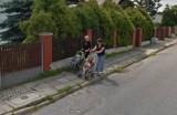 Mieszkańcy Żywca na zdjęciach Street View