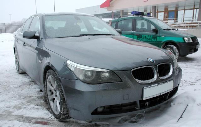 Kradzione BMW