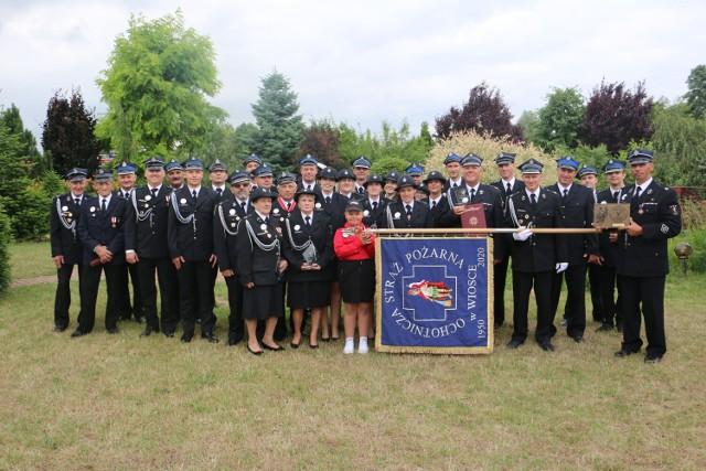 Uroczystości z okazji 70-lecia Ochotniczej Straży Pożarnej w Wiosce.