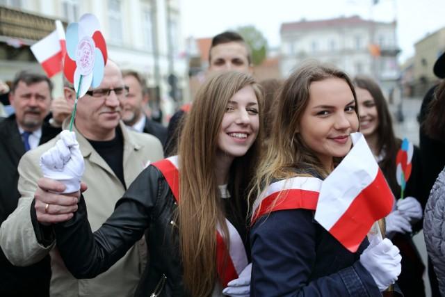 226. rocznica Konstytucji 3 Maja w Piotrkowie