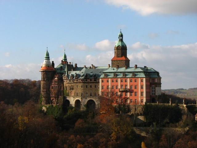 Najpiękniejsze zamki w Polsce. Zamek Książ.
