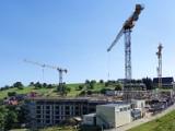Zieleniec. Trwa budowa apartamentowca INFINITY. Zobacz zdjęcia!