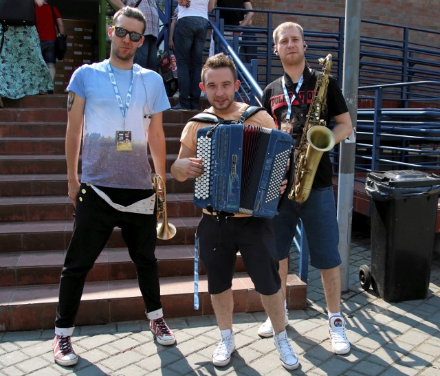 Zespół Enej na koncertach zawsze porywa fanów do tańca