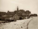 Malbork. Bulwar przy zamku zaczął się wyłaniać około 100 lat temu. Tak pisał o Nogacie i jego nabrzeżu Steinbrecht