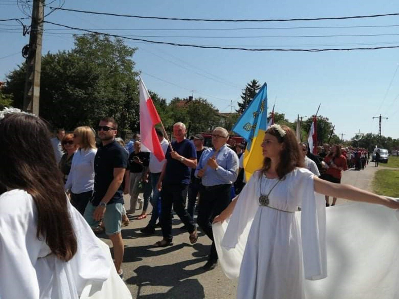 Jaslow.  Adam Pavlok a vizitat România.  Starosty: Discursul său în engleză i-a făcut pe oameni să plângă [ZDJĘCIA]
