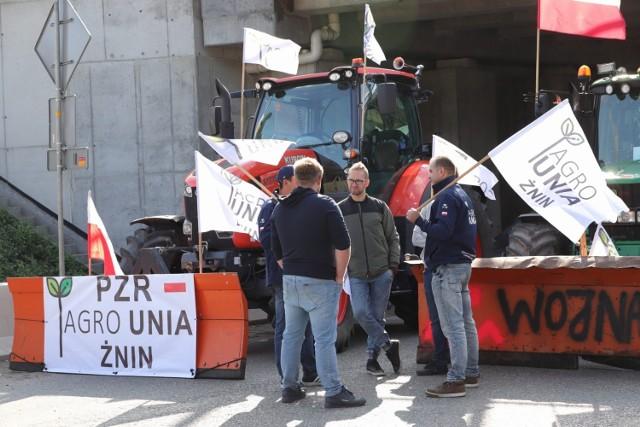 Protest rolników 24 sierpnia 2021 w Kołaczkowie (Kujawsko-Pomorskie)