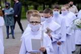 Komunia święta w czasie pandemii w Toruniu
