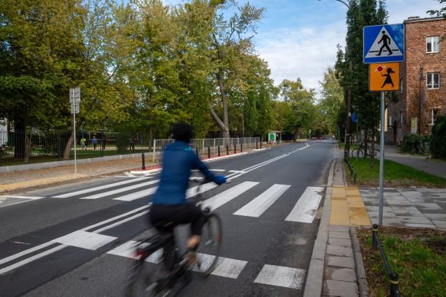 ulica Odyńca w 2020 roku po przekształceniach