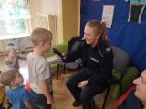 Policjanci odwiedzili przedszkolaków w gminie Olkusz