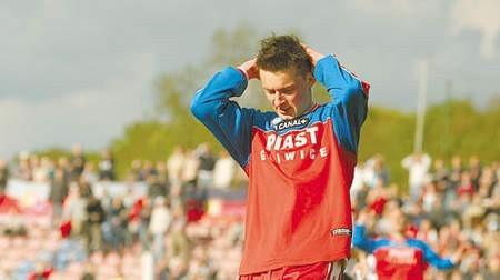 Piotr Uss pożegnał się wczoraj z marzeniami o grze w Ruchu. Fot. M. Suchan