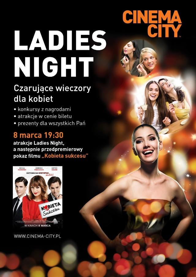 Dzień Kobiet w toruńskim Cinema City - Ladies Night