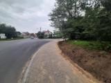 Kostrzewskiego. Nowy chodnik i bezpieczne dojście na os. Dalki