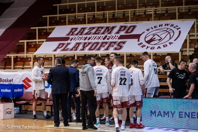 Ostatnie spotkanie sezonu Spójnia rozegrała 8 marca bez kibiców, przegrała w Stargardzie ze Startem Lublin 71:83