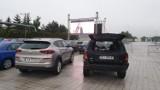 Kino samochodowe w Targach Kielce. Pierwszy seans i.. spore zainteresowanie [ZDJĘCIA]