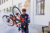 Pokona trasę 740 km dla Rogoźna i Kubusia Wróblewskiego