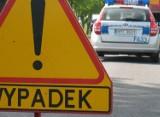 Wypadek w Mostkach pod Zduńską Wolą. Potrącony rowerzysta