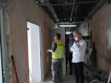 Trwa remont oddziału ginekologiczno-położniczego w szpitalu w Ostrowie Wielkopolskim