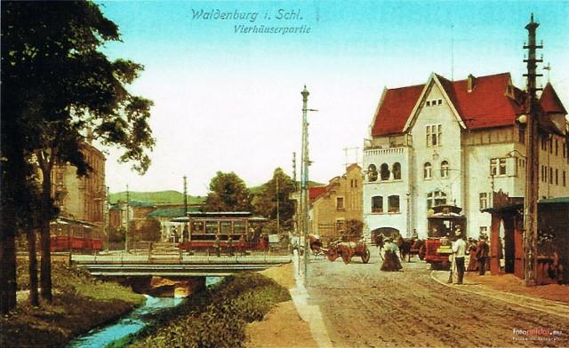 Lata 1900-1910  Plac Grunwaldzki