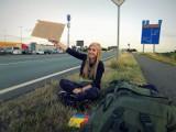 Patrycja z Głogowa zjechała autostopem prawie całą Europę [ZDJĘCIA]