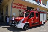 CZARNY DUNAJEC.  Druhowie ochotnicy z Ratułowa dostali nowy wóz strażacki