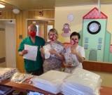 Szkoła Podstawowa Specjalna nr 19 w Kaliszu również pomaga medykom. ZDJĘCIA