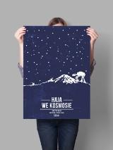 """""""Haja we kosmosie""""? Plakaty filmowe po... śląsku. Wiecie, co to za filmy?"""
