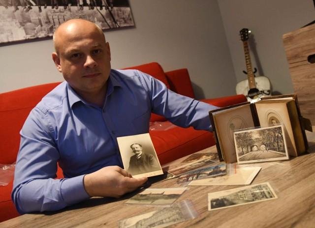 Ryszard Dubik od lat pasjonuje się historią Kostrzyna nad Odrą.