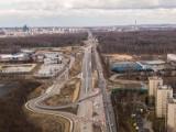 Katowice: Duże zmiany na węźle Giszowiec. Jezdnia zachodnia już gotowa. Przed końcem marca nowa organizacja ruchu