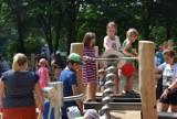 Tłumy na otwarciu wodnego placu zabaw. To jedyne takie miejsce w regionie