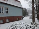 Powrót zimy do Szczecinka. Miasto zasypane śniegiem (7 kwietnia)