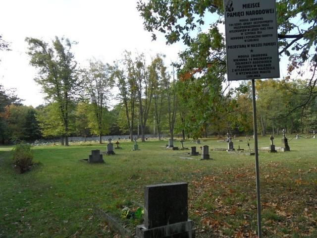Lubliniec: Cmentarz przy ul. Sportowej