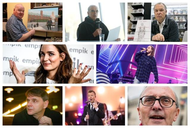 Znani ludzie związani z Katowicami. Widzieliście ich? To muzycy, aktorzy, sportowcy...
