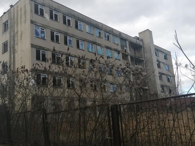 Budynek widmo - dawny internat sandomierskiego ekonomika zastąpi blok mieszkalny ze sklepami