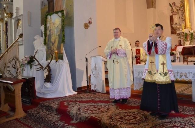 Do Śliwic jako jednej z niewielu miejscowości w Polsce trafiły relikwie św. Huberta