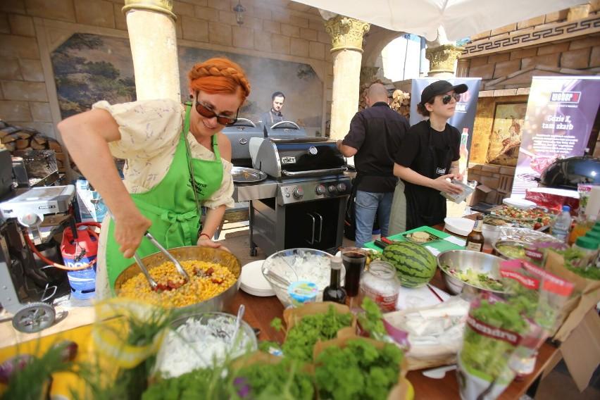 Festiwal Grilla w Termach Rzymskich w Czeladzi. Pojawili się znani i lubiani szefowie kuchni. Zobaczcie ZDJĘCIA