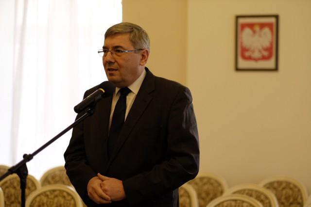 Grzegorz Ganowicz, przewodniczący poznańskie RM.