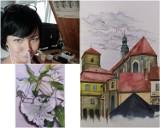 Przepiękne prace Katarzyny Surówki z Kłodzka. Maluje je akwarelą i solą morską