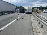 Zderzenie na S52 w kierunku Cieszyna. Dwie osoby zostały ranne