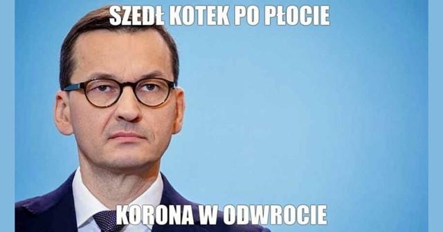 """Mateusz Morawiecki ogłasza: """"wygrywamy z koronawirusem"""". Internauci nie do końca się zgadzają.   Zobacz memy na kolejnych slajdach galerii >>>"""