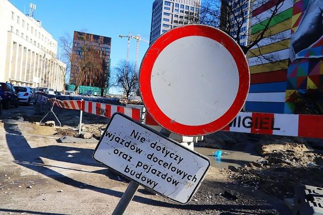 Ulica Traugutta w Łodzi