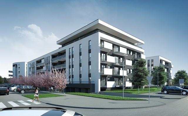 Wizualizacja nowego osiedla w Koninie