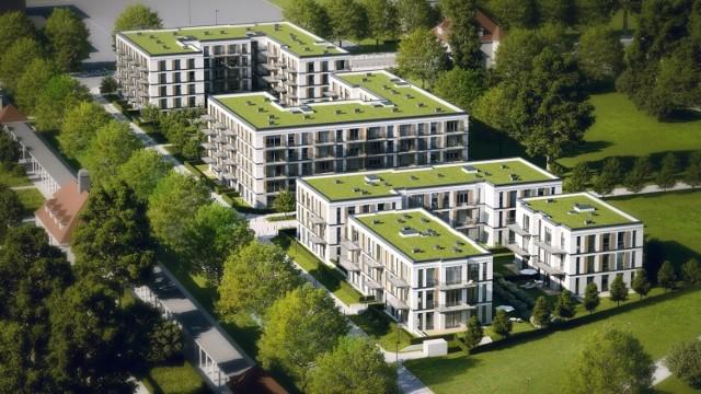 Osiedle Riverpark    Położone przy ulicy Bielniki osiedle skupia w sobie atuty mieszkania w centrum miasta w otoczeniu natury. Pięć budynków to 189 mieszkań, w tym 160 mieszkań i 29 apartamentów w willach miejskich.  Ceny nowych mieszkań wahają się od 173 349 do 1 526 125  zł.  Planowane zakończenie inwestycji to II kwartał 2015 r.