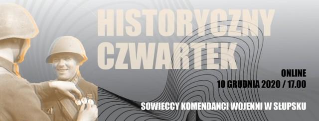 Profesor Wojciech Skóra, dyrektor Instytutu Historii Akademii Pomorskiej w Słupsku będzie opowiadał o swoich najnowszych badaniach, które dotyczą komendatury radzieckiej po zajęciu miasta w 1945 roku.