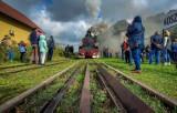 Zabytkowa lokomotywa wróciła na tory. Remont kosztował ponad pół miliona złotych [ZDJĘCIA, WIDEO]