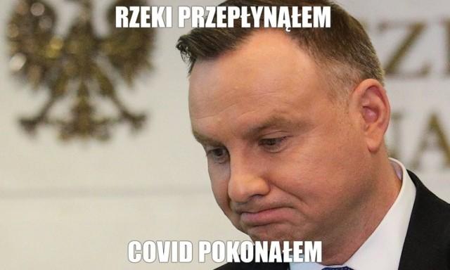 Andrzej Duda na koronawirusa zaszczepi się jako jeden z ostatnich. Internauci komentują wypowiedź prezydenta. Zobacz memy na kolejnych slajdach galerii