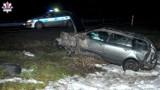 Wypadek w okolicach Kraśnika. Dzik wybiegł pod samochód osobowy